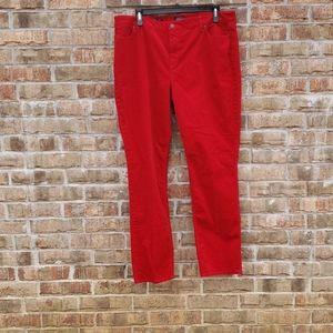 Talbots Flawless 5 Pocket Straight Pants 20 Long